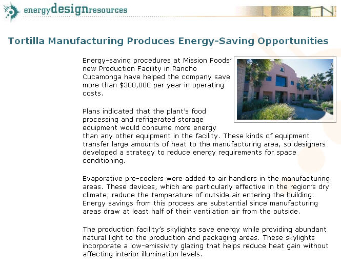 Energy Solutions Center Natural Gas